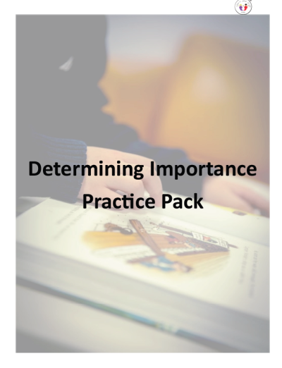 Determining Importance Page Image